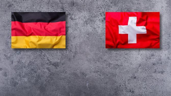 Deutscher und Schweizer Flagge, Verhältnis zwischen Deutschland und der Schweiz