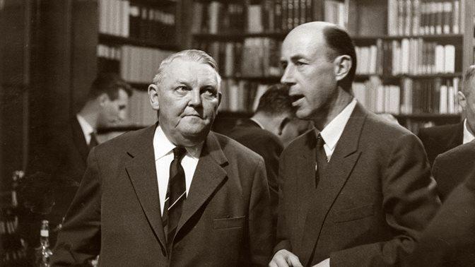 Ludwig Erhard an der HSG